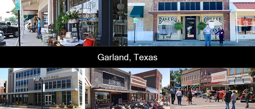 Garland Downtown Plan